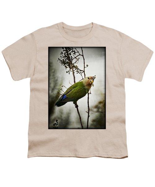 Lovebird  Youth T-Shirt by Saija  Lehtonen