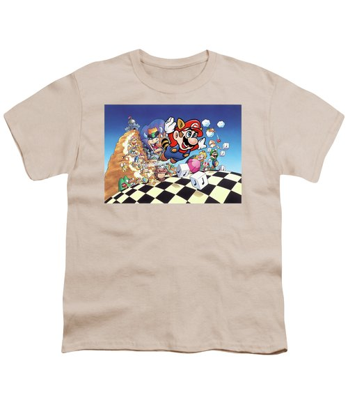 Mario Youth T-Shirt