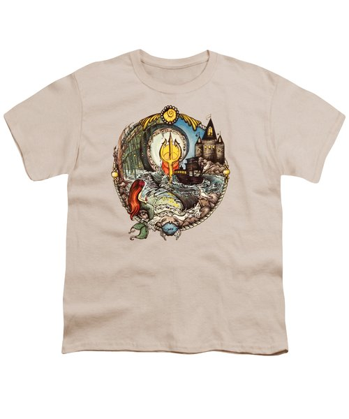Mermaid Part Of Your World Youth T-Shirt