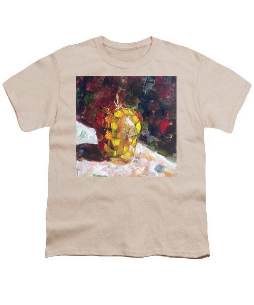 Mosaic Apple Youth T-Shirt by Roxy Rich
