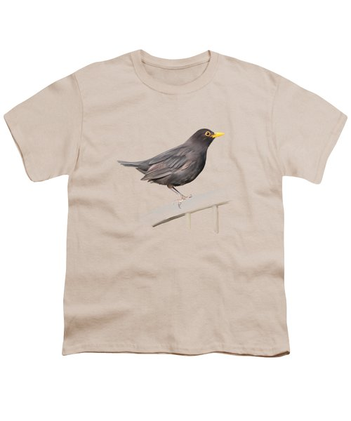 Ms. Blackbird Is Brown Youth T-Shirt