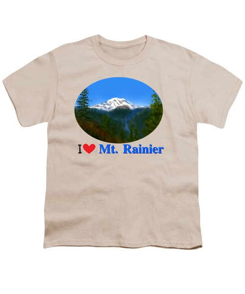 Mt Rainier Youth T-Shirt