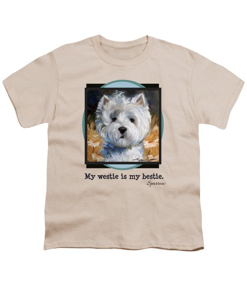 My Westie Is My Bestie Youth T-Shirt