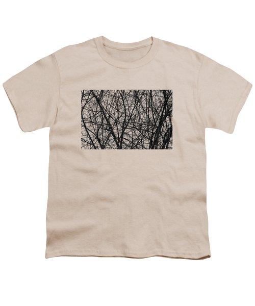 Natural Trees Map Youth T-Shirt by Konstantin Sevostyanov