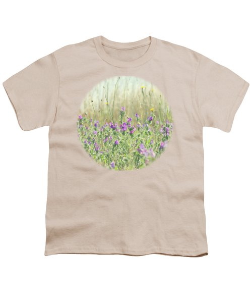 Youth T-Shirt featuring the photograph Nature's Graffiti by Linda Lees