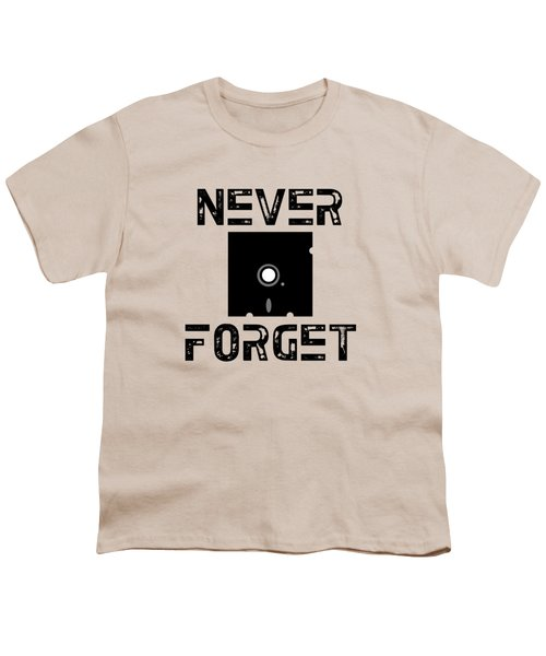 Never Forget Youth T-Shirt by Mariel Constantino
