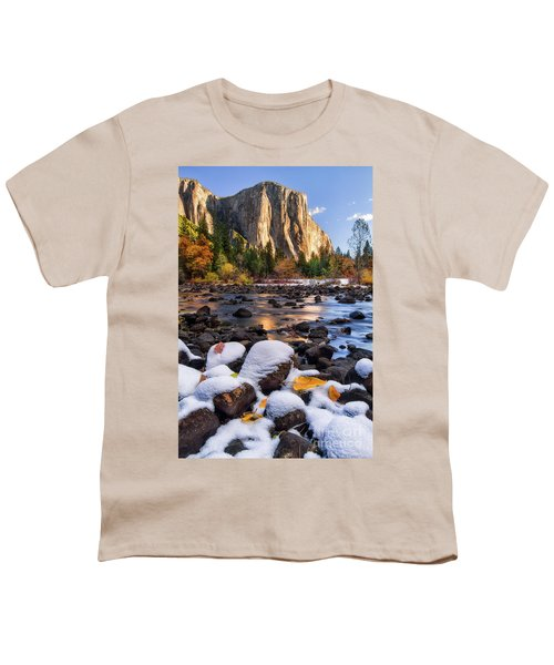 November Morning Youth T-Shirt by Anthony Michael Bonafede