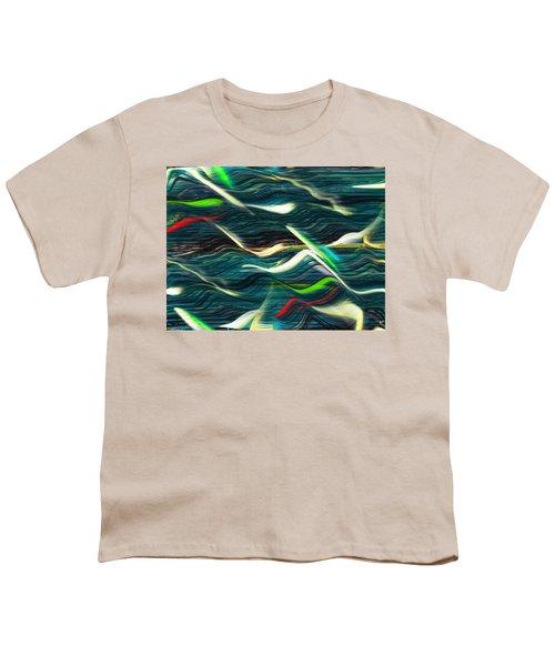 Ocean Run 2 Youth T-Shirt by Yul Olaivar
