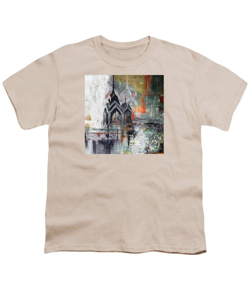 One Liberty Place And Two Liberty Place 229 3 Youth T-Shirt by Mawra Tahreem