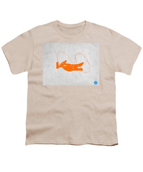 Orange Plane Youth T-Shirt