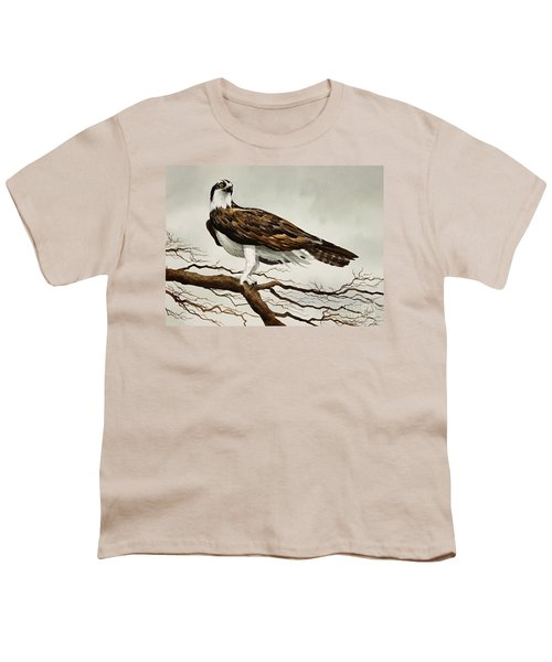 Osprey Sea Hawk Youth T-Shirt by James Williamson