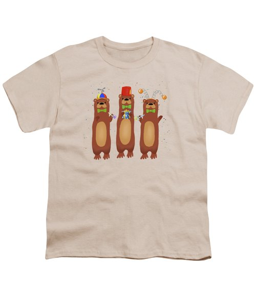 Otter Party And You Are Invited Youth T-Shirt by Little Bunny Sunshine
