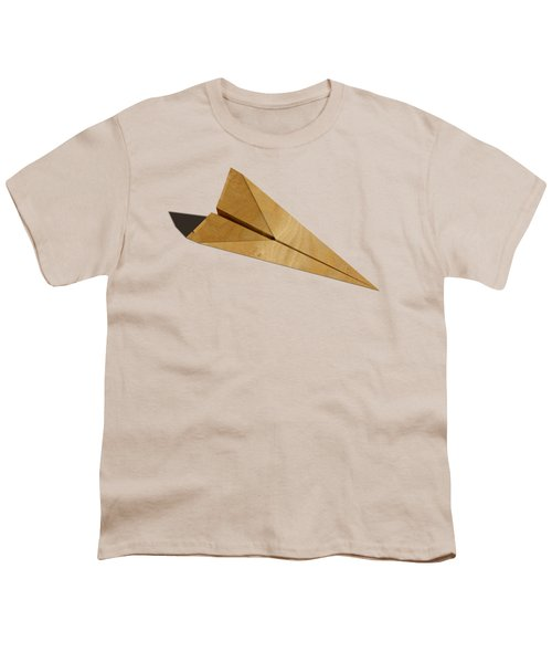 Paper Airplanes Of Wood 15 Youth T-Shirt by YoPedro