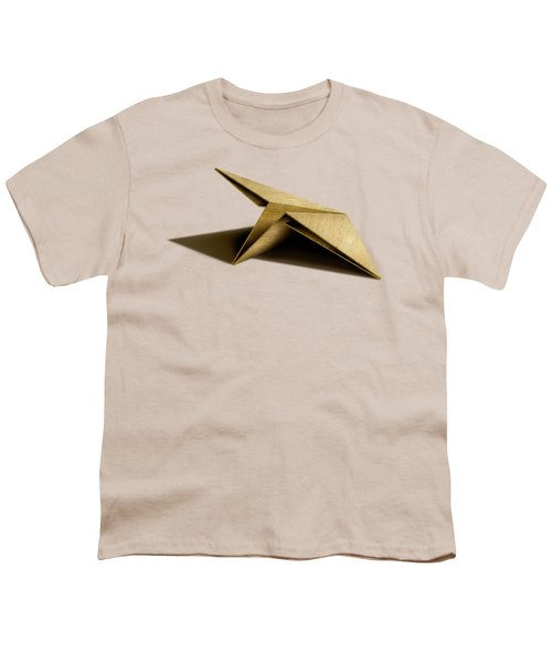 Paper Airplanes Of Wood 7 Youth T-Shirt by YoPedro