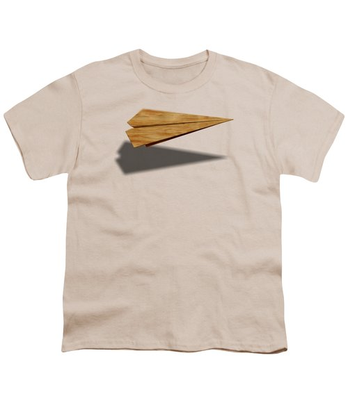 Paper Airplanes Of Wood 9 Youth T-Shirt by YoPedro