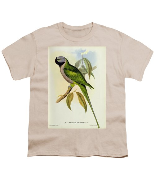 Parakeet Youth T-Shirt by John Gould