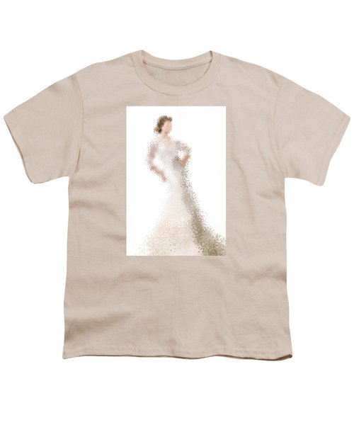 Youth T-Shirt featuring the digital art Penelope by Nancy Levan