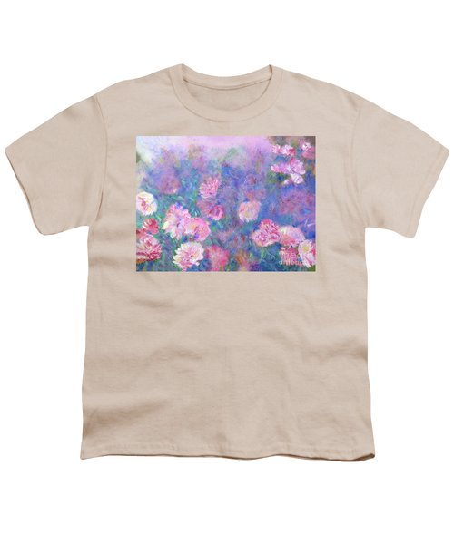 Peonies Youth T-Shirt
