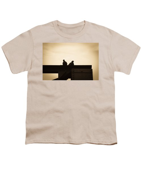 Pigeon And Steel Youth T-Shirt