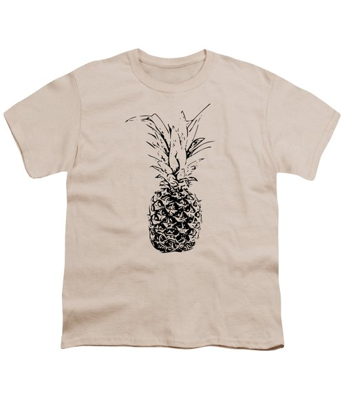 Pineapple Youth T-Shirt by Daniel Precht