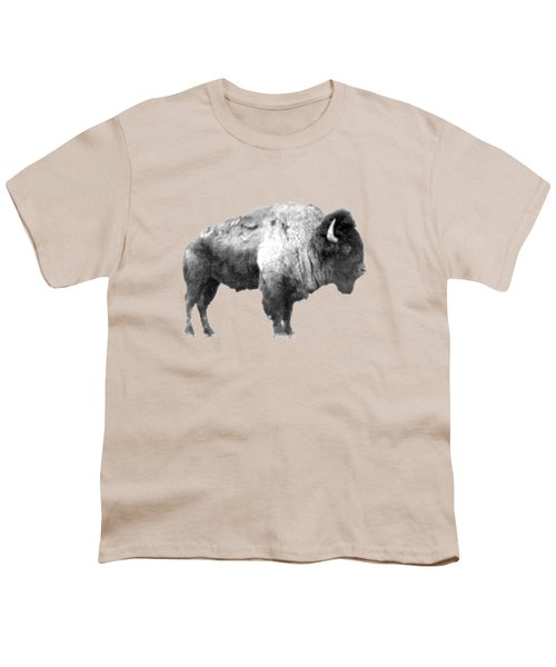 Plains Bison Youth T-Shirt