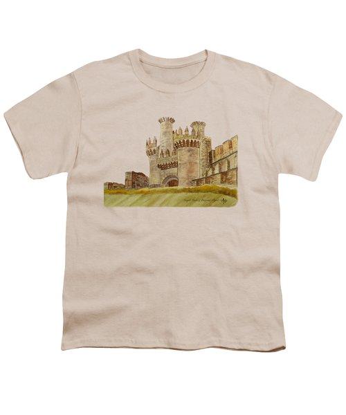 Ponferrada Templar Castle  Youth T-Shirt