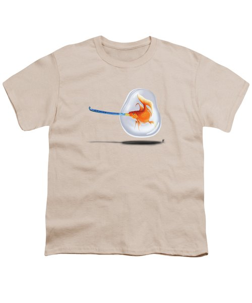 Popper Colour Youth T-Shirt by Rob Snow
