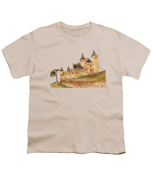 Puymartin Castle Youth T-Shirt