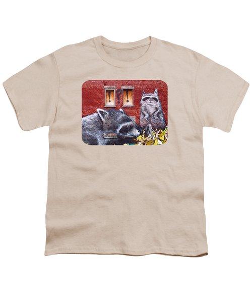 Raccoons Youth T-Shirt