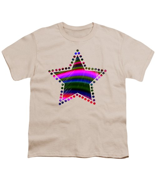 Rainbow Waves Youth T-Shirt