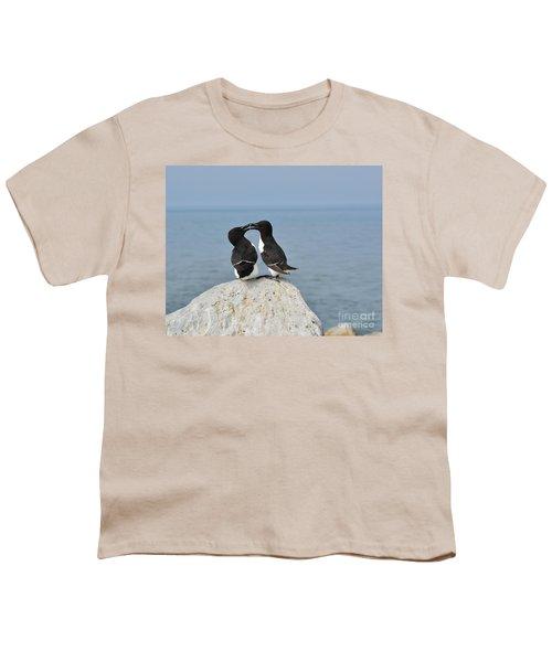 Razorbills In Love Youth T-Shirt