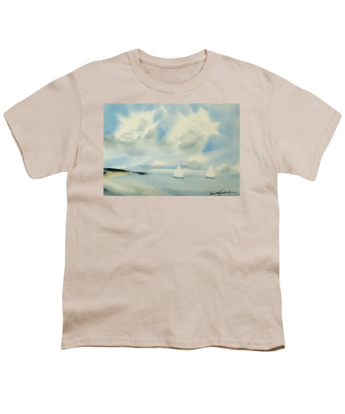 Sailing Into A Calm Anchorage Youth T-Shirt