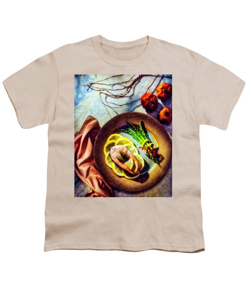 Salmon Dinner Youth T-Shirt
