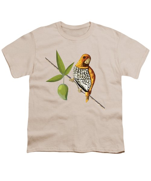 Scaly Breasted Munia D Youth T-Shirt by Thecla Correya