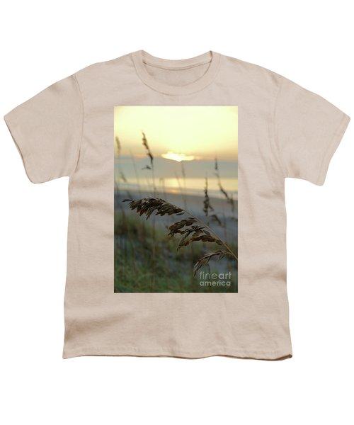 Sea Oats At Sunrise Youth T-Shirt