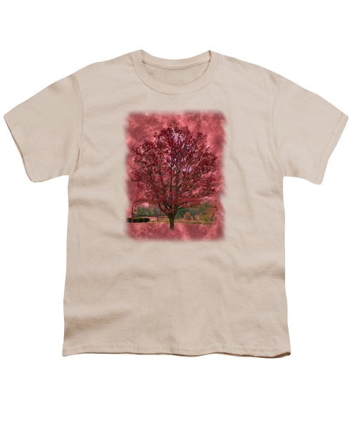 Seeing Red 2 Youth T-Shirt by John M Bailey