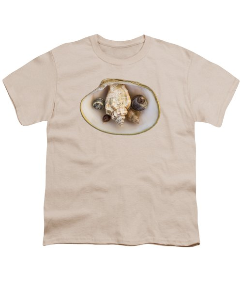 Shells Within A Sea Shell Youth T-Shirt