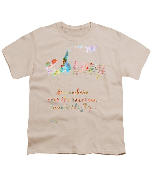 Somewhere Over The Rainbow Youth T-Shirt by Nikki Smith