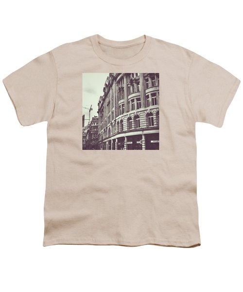 Streets Of London Youth T-Shirt by Trystan Oldfield