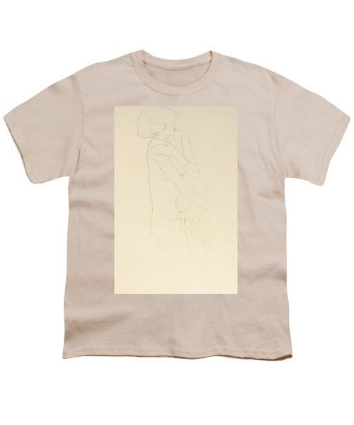 Study For Adele Bloch Bauer II Youth T-Shirt by Gustav Klimt