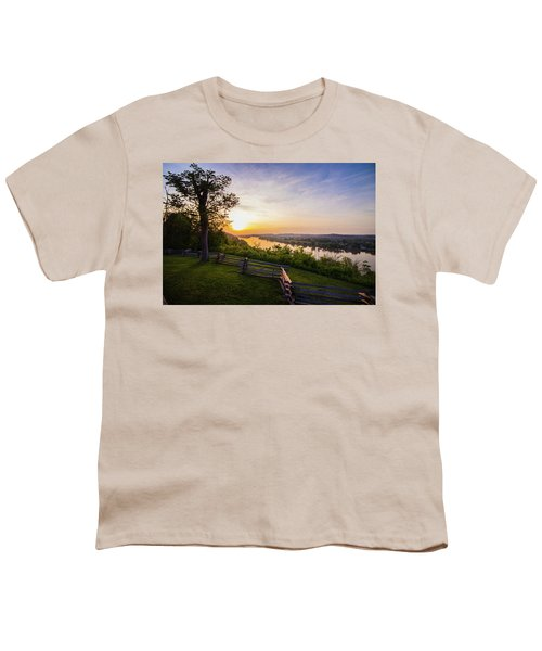Sunset From Boreman Park Youth T-Shirt