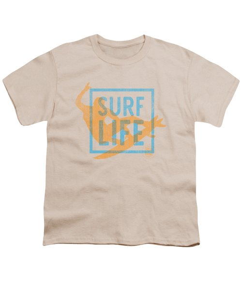 Surf Life 1 Youth T-Shirt by SoCal Brand