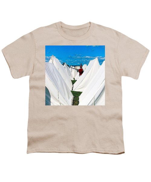 Field Of Tents Youth T-Shirt