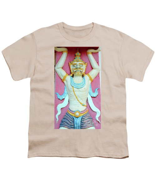 Temple Art In Thailand Youth T-Shirt