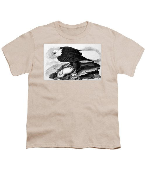 The Bald Eagle Youth T-Shirt by Granger