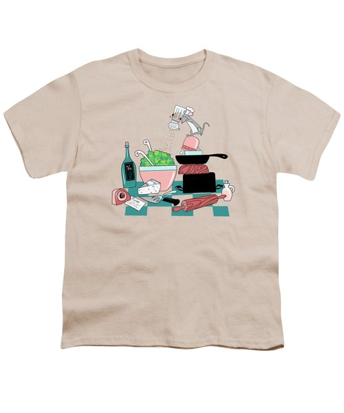 The Hungry Mouse Youth T-Shirt by Little Bunny Sunshine
