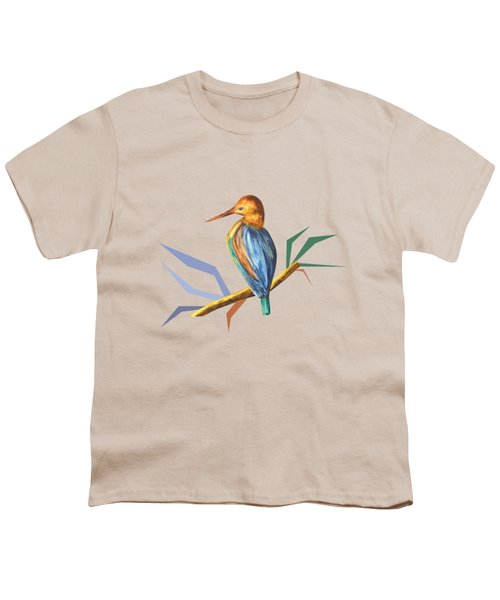 The King Appeared B Youth T-Shirt by Thecla Correya
