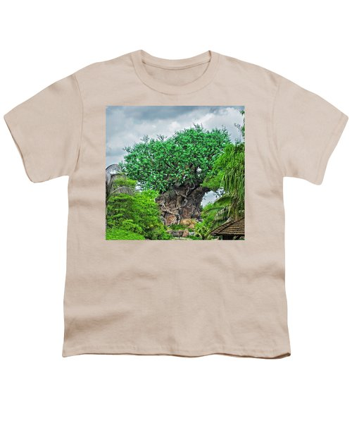 The Living Tree Walt Disney World Mp Youth T-Shirt