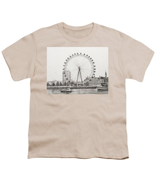 The London Eye Youth T-Shirt by Vincent Alexander Booth