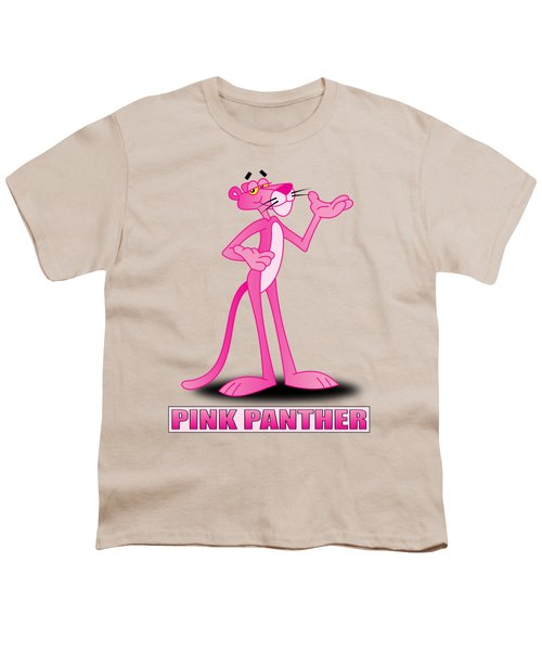 The Pink Panther Youth T-Shirt by Brian Swanke